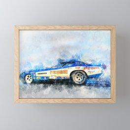 The Hawaiian Framed Mini Art Print