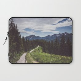 Greetings from the trail - Landscape and Nature Photography Laptop Sleeve