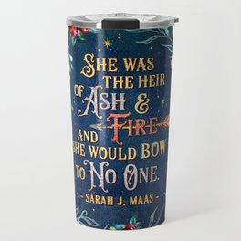 Ash & Fire Travel Mug