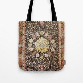 Ardabil Persian Safavid Carpet Print Tote Bag