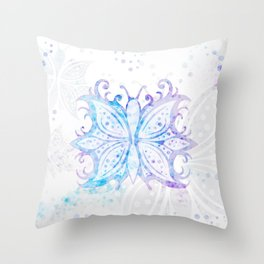 Butterfly Abstract G540 Throw Pillow