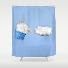 The cloud harvester Shower Curtain