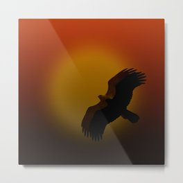 Shadow flight Metal Print