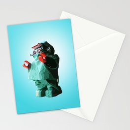 Doctorbot Blue Stationery Cards