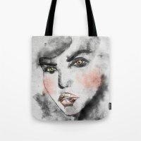 daria Tote Bags featuring Daria Rose by lisalove
