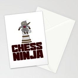 Birthday Ninja Party Samurai Ninjas Gift Japanese Ninja Chess ninja Stationery Cards