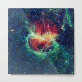 Dreamy Milky Way Galaxy Metal Print