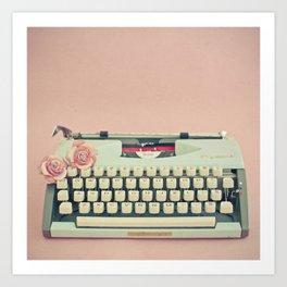 Love Letter Kunstdrucke