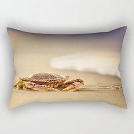Crab Cribrarius Rectangular Pillow