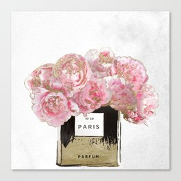 Pink Scented Canvas Print