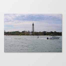 Swinging by Sanibel Canvas Print