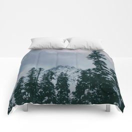 Cascade Winter Mountain Comforters