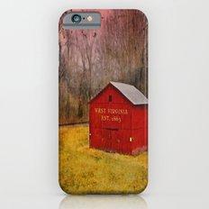 West Virginia Red Barn iPhone 6s Slim Case