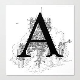 Alphabetanauts - A Canvas Print
