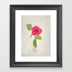Because I love you Framed Art Print