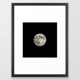 La Luna 08012012 Framed Art Print