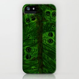 Mosaic of owls V2 iPhone Case