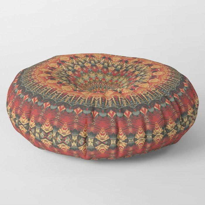 Mandala 563 Floor Pillow