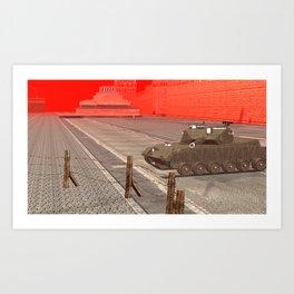 SquaRed: ArmouReady Art Print