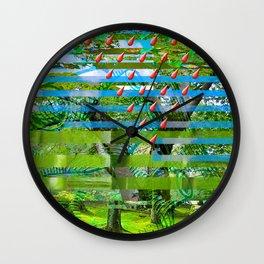 Landscape of My Heart (segment 2) Wall Clock