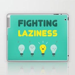 Fighting Laziness Laptop & iPad Skin