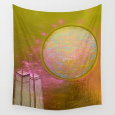 Planetary Moods 1A / 31-08-16 Wall Tapestry