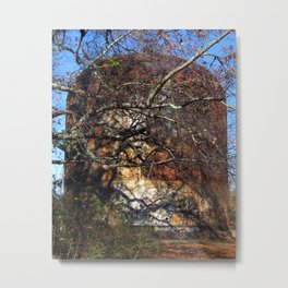 Rusted and Forgotten Metal Print