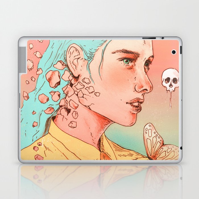 If I Could Only Live Once More Laptop & iPad Skin