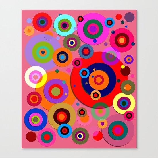 Op Art #18 Canvas Print
