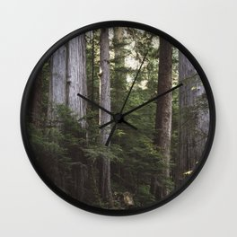 Among Giants Wall Clock