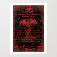 2nd Annual See The Good Suicide Prevention Benefit Concert Art Print