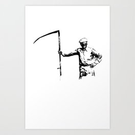 The Farmer Art Print