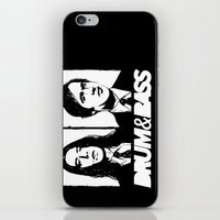 nirvana iPhone & iPod Skins featuring Nirvana DNB by Grym Life