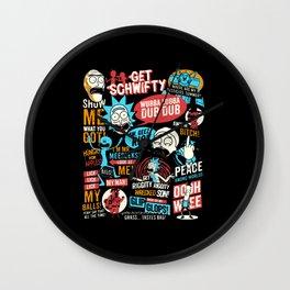 Wub A Lub A Dub Dub Wall Clock