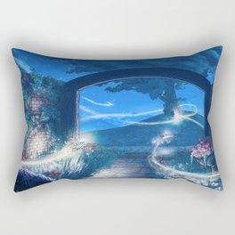 The Key to the Door Journey Rectangular Pillow