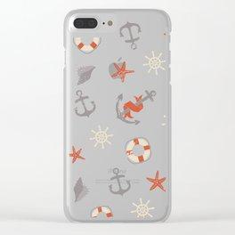 Nautical Clear iPhone Case