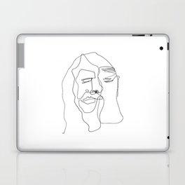 Portrait of Jesus Laptop & iPad Skin