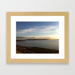Fintry Bay Millport Framed Art Print