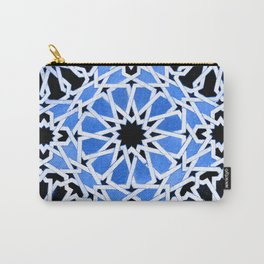 Moroccan Zellige pattern Carry-All Pouch
