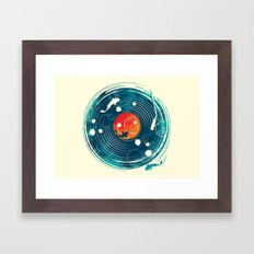 Sound of Water Framed Art Print