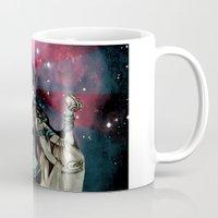 shiva Mugs featuring cosma shiva by Abraxas (luciana cabane)