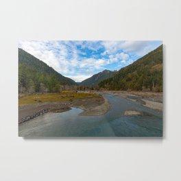 Lake Cushman WA Metal Print