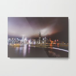 Night city 5 Metal Print
