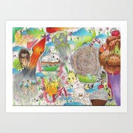 CompleteChaos Art Print
