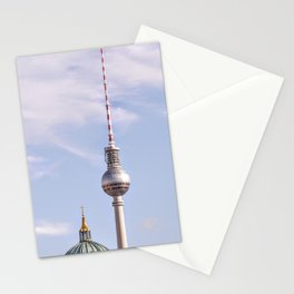 TV Tower Berlin with dome I Berlin, Germany I Old and new I Fine art I Photography  Stationery Cards