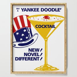 Try a Yankee Doodle cocktail Serving Tray