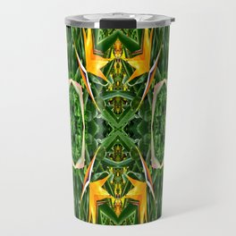 Patterned Perspective  Travel Mug