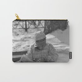 Reading the forecast in NYC Carry-All Pouch