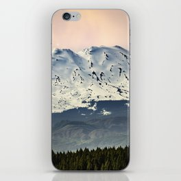 Mount St. Helens at Sunset iPhone Skin
