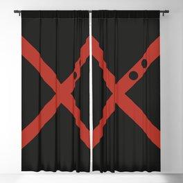 Bakugo Blackout Curtain